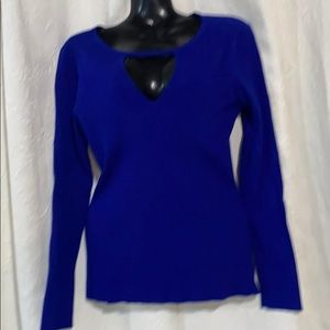 LN INC blue sweater